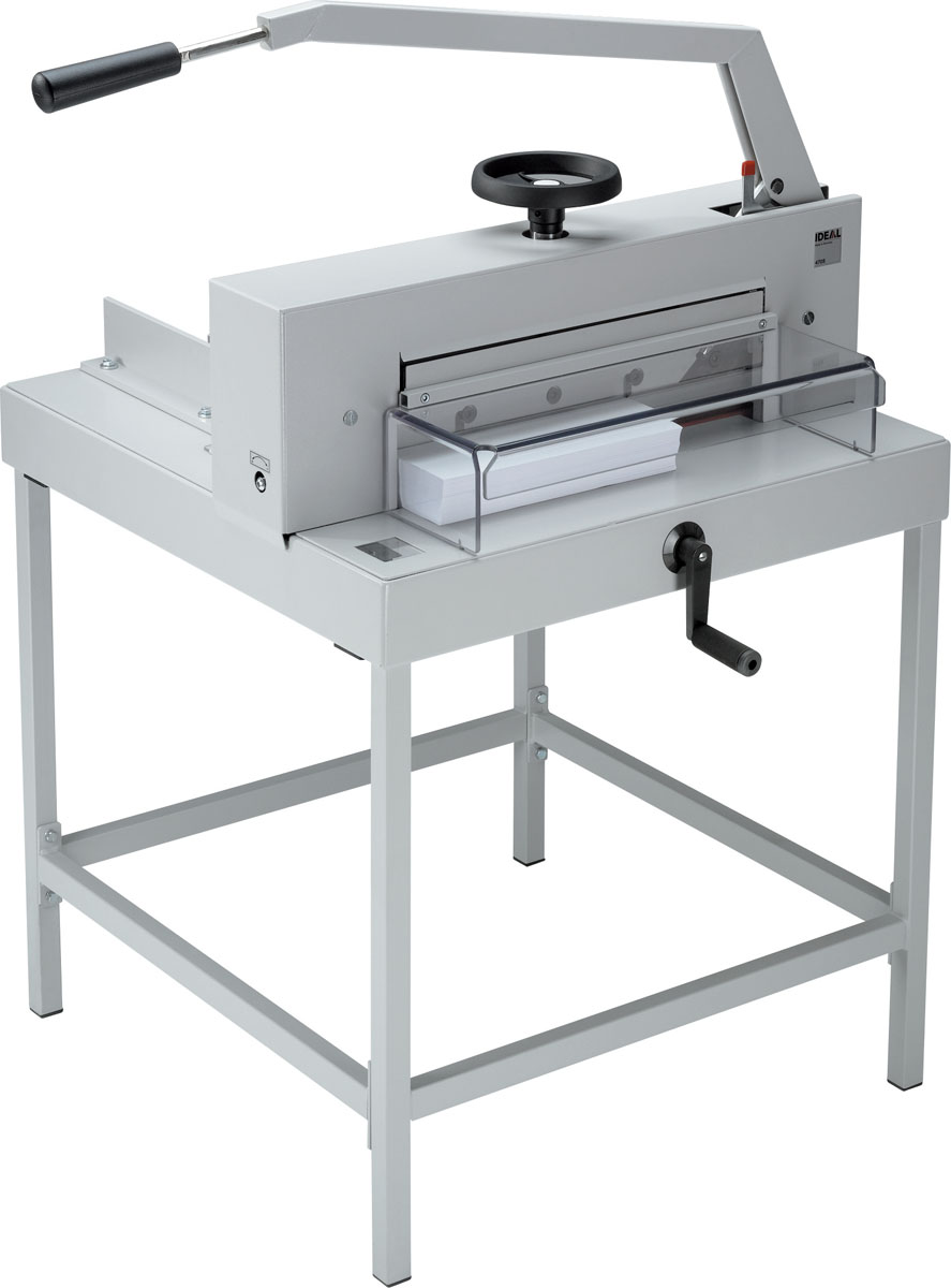 IDEAL 4705 MANUAL GUILLOTINE WITH STAND